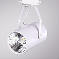 20w 1600lm 3000K / 4000K / 6000K førte shop spotlight jernbane spot light erstatte halogenlamper (AC220-240V)