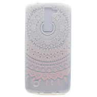 Для Прозрачный С узором Кейс для Задняя крышка Кейс для Цветы Мягкий TPU для LG LG K10 LG K8 LG K7 LG Nexus 5X LG X Power
