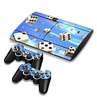 abordables Fundas para PS3-B-SKIN USB Bolsos, Cajas y Cobertores Adhesivo - Sony PS3 Novedades Inalámbrico #