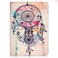 Pour samsung galaxy tab e 9.6 tab a 9.7 pattern dream catcher pu couverture en cuir couverture rigide a 9.7 tab a 10.1 (2016) t580n t585n