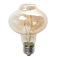 お買い得  LED ボール型電球-4W 400lm E26 / E27 LEDボール型電球 G80 4 LEDビーズ COB 防水 装飾用 温白色 220-240V