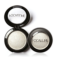preiswerte -1 Lidschattenpalette Trocken / Matt / Schimmer / Mineral Lidschatten-Palette Puder NormalAlltag Make-up / Halloween Make-up / Party