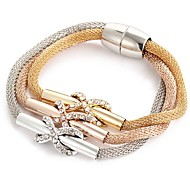 Women's Hollow Out / Crossover Wrap Bracelet - Cross Bracelet Rose Gold For Christmas Gifts / Daily / Casual