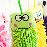 abordables Suministros de Limpieza-toalla toallas preciosas sienten patrón de mano animal y la caída de la fibra (colores aleatorios)