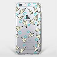 Для Кейс для iPhone 7 Кейс для iPhone 7 Plus Кейс для iPhone 6 С узором Кейс для Задняя крышка Кейс для Геометрический рисунок Мягкий TPU