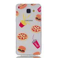 Voor Samsung Galaxy A5 (2016) fruitpatroon met hoge doorlatendheid tpu materiaal telefoon hoesje