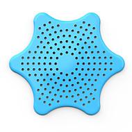 abordables Herramientas especiales-1pc desagüe del fregadero de cocina colador de filtro de desagüe del fregadero cubierta tapón del lavabo colador de evitar la obstrucción