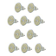 お買い得  LED スポットライト-10個 300-400lm E14 GU10 E26 / E27 LEDスポットライト MR16 60 LEDビーズ SMD 3528 防水 装飾用 温白色 クールホワイト 220-240V