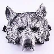 cheap Holiday & Party Decorations-Halloween Creepy Rubber Animal Werewolf Wolf Head Mask Head Halloween Masquerade Cosplay Mask Party Costume Prop