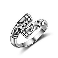 Недорогие Бижутерия-Муж. Жен. Классические кольца Кольцо на кончик пальца Бижутерия Секси Мода Регулируется обожаемый Хип-хоп Multi-Wear способы Кроссовер