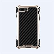 Para Funda iPhone 7 Funda iPhone 7 Plus Carcasa Funda Antigolpes Cuerpo Entero Funda Armadura Dura Metal para Apple iPhone 7 Plus iPhone 7