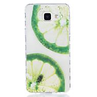 Для samsung galaxy a3 (2016) a5 (2016) лимонный шаблон tpu материал высокопрозрачный корпус телефона