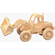 tanie Zabawki & hobby-Samochodziki do zabawy Drewniane puzzle Wózek widłowy profesjonalnym poziomie Drewniany Boże Narodzenie Karnawał Dzień Dziecka