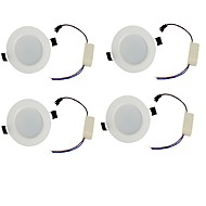 YouOKLight 4PCS  3W 300lm White/Warm White  Light 6-SMD5730 Downlight Ceiling Lamp (85-265V)
