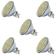 3,5 gu10 gx5.3 led spotlight mr16 80led smd 2835 400-450lm warm wit koud wit 2700k / 6500k decoratief