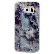 halpa Galaxy S4 kotelot / kuoret-Etui Käyttötarkoitus Samsung Galaxy S7 edge S7 Kuvio Takakuori Marble Pehmeä TPU varten S7 edge S7 S6 edge S6 S5 S4 S3