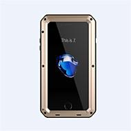 Недорогие Кейсы для iPhone 8-Назначение iPhone 8 iPhone 8 Plus iPhone 7 iPhone 6 Кейс для iPhone 5 Чехлы панели Защита от удара Чехол Кейс для броня Твердый Металл для