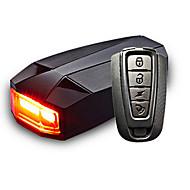 Pyöräilyvalot tankopäähän valot Polkupyörän jarruvalo LED - Pyöräily Tunnistin Kauko-ohjain Ladattava Vedenkestävä Litium-paristo 100