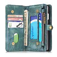 Недорогие Кейсы для iPhone 8-Назначение iPhone 8 iPhone 8 Plus iPhone 7 iPhone 7 Plus iPhone 6 Чехлы панели Бумажник для карт Кошелек Защита от удара Флип Чехол Кейс