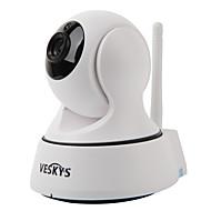 저렴한 -veskys® t2 720p 1.0mp wifi 보안 IP 카메라 (낮 밤 / 모션 감지 / 원격 액세스 / IR- 컷 / 플러그 앤 플레이)