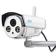 お買い得  -JOOAN 1.0 MP 屋外 with 赤外線カット 128(デイナイト モーション検出 デュアルストリーム リモートアクセス 防水 ワイファイ・プロテクテッド・セットアップ(WPS) IRカット) IP Camera