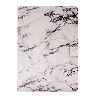 cheap iPad  Cases / Covers-For Apple iPad Air 2 Air 4 3 2 PU Leather Material Marble Pattern Pattern Painted Flat Panel Protective Case