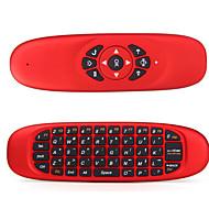 levne -LITBest C120 Bezdrátová / Bezdrátový 2.4GHz Klávesnice Air Mouse Minii MINI Ticho 62 pcs Klíče