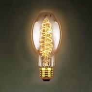 E27 40W C75 Around The Silk Restaurant Shopping Malls Edison Antique Retro Decorative Lamp