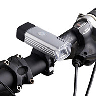 Sykkellykter LED LED Sykling Oppladbar Vanntett Mulighet for demping Lithium Batteri 70 LUX Lumens Usb Naturlig hvit