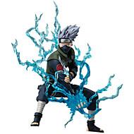 Anime Akciófigurák Ihlette Naruto Hatake Kakashi Anime Szerepjáték Kiegészítők ábra Kék PVC