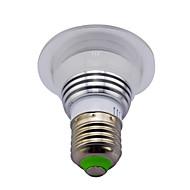 billige -Ac85-265v 3w rgb fjernbetjening farve skifte led smart pærer 1pc