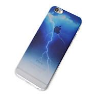 abordables Súperoferta de Precios Locos-Funda Para Apple Funda iPhone 5 iPhone 6 iPhone 7 Traslúcido Funda Trasera Cielo Paisaje Suave TPU para iPhone 7 Plus iPhone 7 iPhone 6s