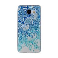 お買い得  携帯電話ケース-ケース 用途 Samsung Galaxy A5(2016) A3(2016) パターン バックカバー レース印刷 ソフト TPU のために A8(2016) A5(2016) A3(2016) A8 A7 A5 A3