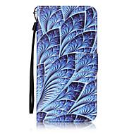 Case Kompatibilitás Samsung Galaxy J7 (2016) J5 (2016) Pénztárca Kártyatartó Flip Minta Teljes védelem Virág Kemény Műbőr Bőr mert On 5