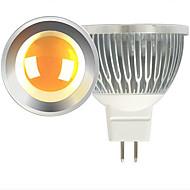 お買い得  LED スポットライト-ONDENN 600lm LEDスポットライト MR16 1 LEDビーズ COB 温白色 クールホワイト 12V