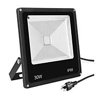 abordables Focos LED-1pc 30 W Focos LED Impermeable Blanco Cálido / Blanco Fresco 85-265 V Iluminación Exterior 1 Cuentas LED