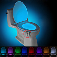cheap LED Novelty Lights-BRELONG 1 pc  8-color Human Motion Sensor PIR Toilet Night Light