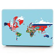 világ zászló térkép minta macbook számítógép esetében macbook air11 / 13 pro13 / 15 profi retina13 / 15 macbook12