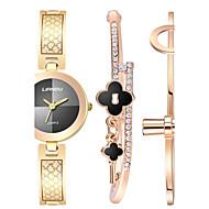 tanie Zegarki boho-Damskie Do sukni/garnituru Modny Zegarek na nadgarstek Zegarek na bransoletce Kwarcowy Wodoszczelny Odporny na wstrząsy KolorowyStal
