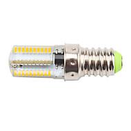 お買い得  LED コーン型電球-450lm E14 LEDコーン型電球 T 80 LEDビーズ SMD 3014 調光可能 装飾用 温白色 クールホワイト 110-130V 220-240V