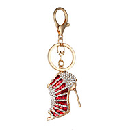 Keychain Jewelry Purple Red Golden Alloy Personalized Euramerican Fashion Unisex