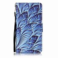 Недорогие Чехлы и кейсы для Galaxy A3(2016)-Кейс для Назначение SSamsung Galaxy A5(2017) A3(2017) Кошелек Бумажник для карт со стендом Флип С узором Чехол Цветы Твердый
