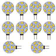 ราคาถูก หลอดไฟ Bi-pin LED-หลอดไฟ led g4 รอบรถทะเลค่าย rv ไฟบ้าน 9 smd 5730 120 องศา 12-24 โวลต์ dc / ac (10 ชิ้น)