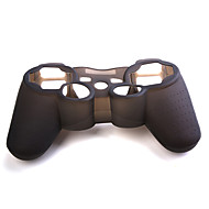 Custodia in silicone per controller PS3 - Nero