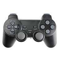 Telecomando senza fili, con vibrazione, per PS3, PS2 e PC (2.4Ghz, nero)