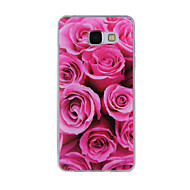 cheap Cases / Covers for Samsung-Case For Samsung Galaxy A5(2016) A3(2016) Pattern Back Cover Flower Soft TPU for A8(2016) A5(2016) A3(2016) A8 A7 A5 A3