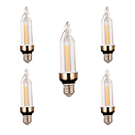 E26/E27 Decoration Light 2 COB 300-400 lm Warm White Cold White 2800-3200/6000-6500 K Decorative AC 220 V