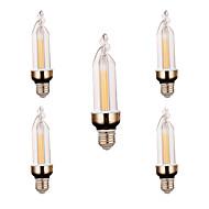 E26/E27 Lumini Decorative 2 led-uri COB Decorativ Alb Cald Alb Rece 300-400lm 2800-3200/6000-6500