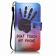Hand Painting PU Phone Case for apple iTouch 5 6 iPod Cases/Covers