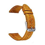 Недорогие Часы для Samsung-Ремешок для часов для Gear S3 Frontier Gear S3 Classic Samsung Galaxy Спортивный ремешок Кожа Повязка на запястье